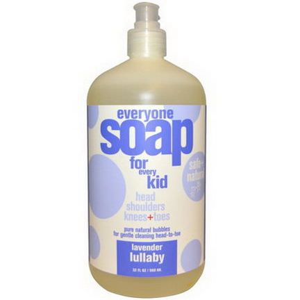 EO Products, Everyone Soap for Every Kid, Lavender Lullaby 960ml