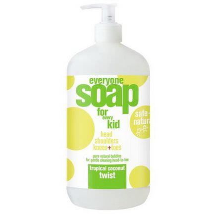 EO Products, Everyone Soap for Every Kid, Tropical Coconut Twist 946ml