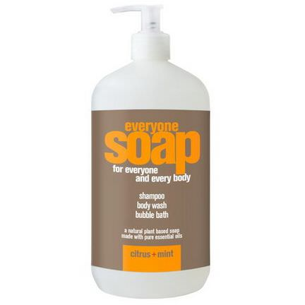 EO Products, Everyone Soap for Everyone and Every Body, Citrus Mint 960ml