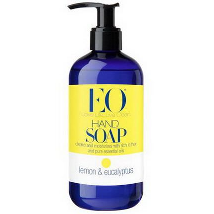 EO Products, Hand Soap, Lemon&Eucalyptus 355ml
