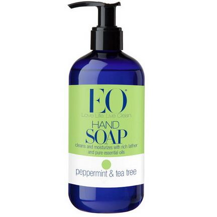 EO Products, Hand Soap, Peppermint&Tea Tree 355ml