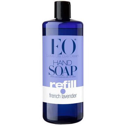 EO Products, Hand Soap, Refill, French Lavender 946ml