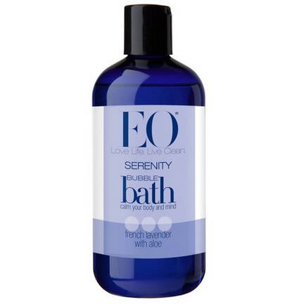 EO Products, Serenity Bubble Bath, French Lavender with Aloe 355ml