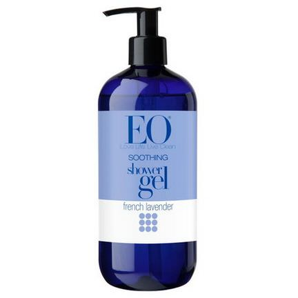 EO Products, Soothing Shower Gel, French Lavender 473ml