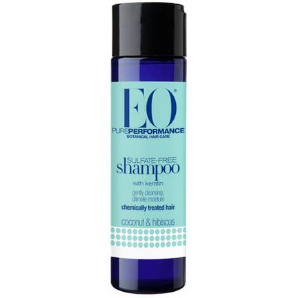 EO Products, Sulfate-Free Shampoo, With Keratin, Coconut&Hibiscus 248ml