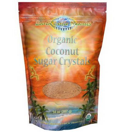 Earth Circle Organics, Coconut Sugar Crystals 397g