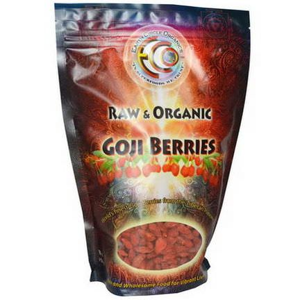 Earth Circle Organics, Goji Berries, Raw&Organic 454g