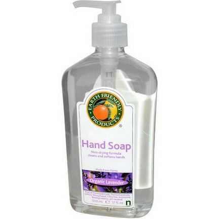 Earth Friendly Products, Hand Soap, Organic Lavender 500ml