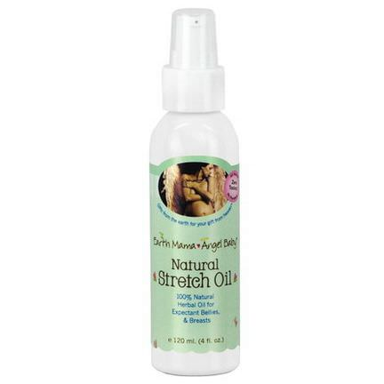 Earth Mama Angel Baby, Natural Stretch Oil 120ml