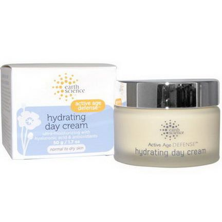 Earth Science, Active Age Defense, Hydrating Day Cream 50g