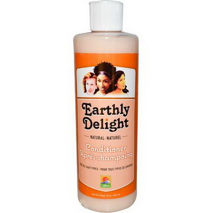 Earthly Delight Hair Care, Natural Conditioner, For all Hair Types 454ml