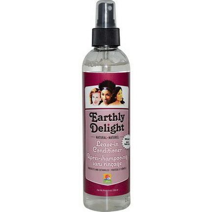 Earthly Delight Hair Care, Natural Leave-In Conditioner 236ml