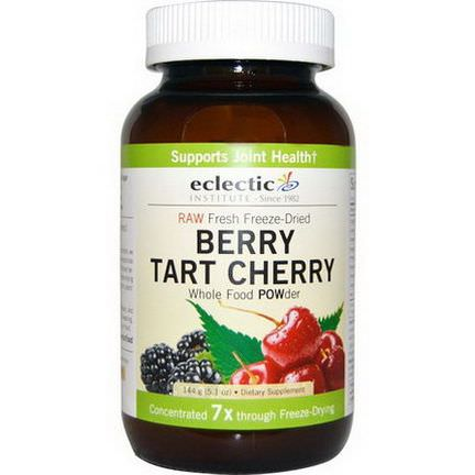 Eclectic Institute, Berry Tart Cherry, Whole Food Powder 144g