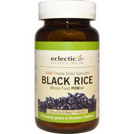 Eclectic Institute, Black Rice, Whole Food POWder 120g