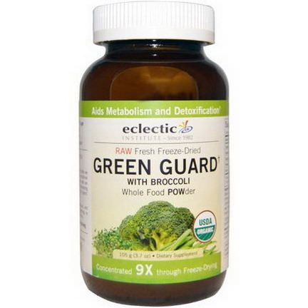 Eclectic Institute, Green Guard with Broccoli, Whole Food POWder 105g