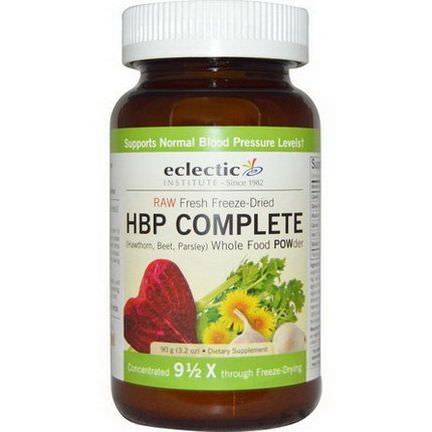 Eclectic Institute, HBP Complete, Whole Food POWder 90g