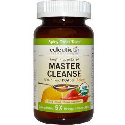 Eclectic Institute, Master Cleanse POWder, Spicy 130g