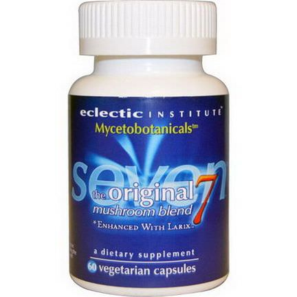 Eclectic Institute, Mycetobotanicals, The Original 7 Mushroom Blend, 60 Veggie Caps