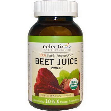 Eclectic Institute, Organic, Beet Juice POWder 90g