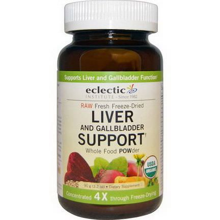 Eclectic Institute, Organic Liver and Gallbladder Support, Whole Food POWder 90g