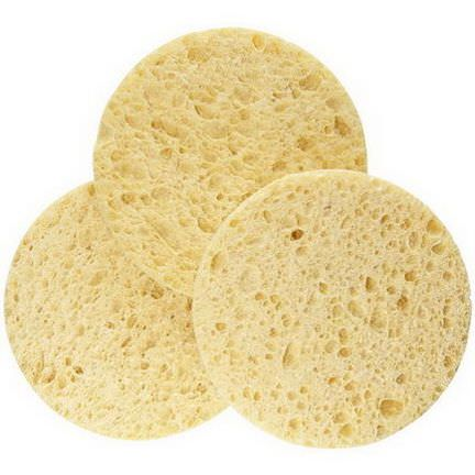 EcoTools, Facial Sponges, 3 Pack