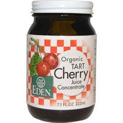 Eden Foods, Organic Tart Cherry Juice Concentrate 222ml