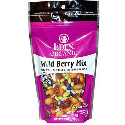Eden Foods, Organic, Wild Berry Mix, Nuts, Seeds&Berries 113g