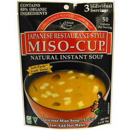 Edward&Sons, Miso-Cup, Japanese Restaurant Style 82g