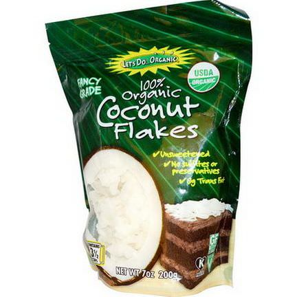 Edward&Sons, Organic Coconut Flakes, Unsweetened 200g