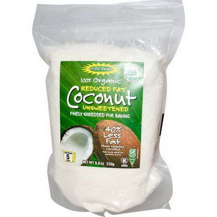 Edward&Sons, Organic Coconut, Reduced Fat, Unsweetened 250g