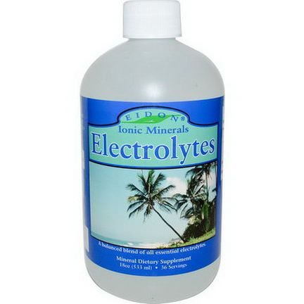Eidon Mineral Supplements, Electrolytes 533ml