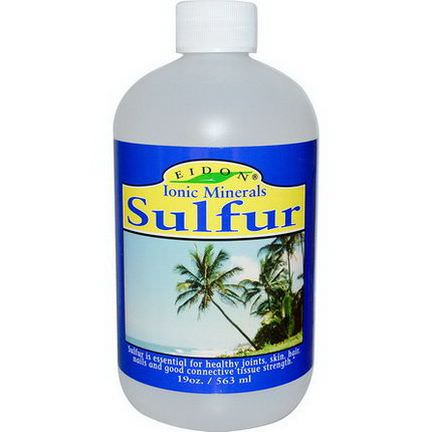 Eidon Mineral Supplements, Sulfur 563ml