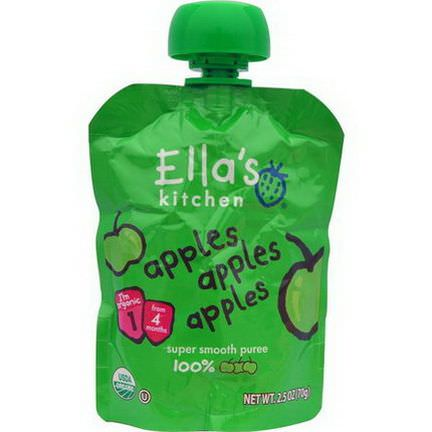 Ella's Kitchen, Apples Apples Apples 70g