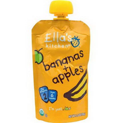 Ella's Kitchen, Bananas Apples 99g