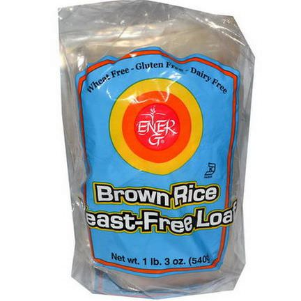 Ener-G Foods, Brown Rice Yeast-Free Loaf 540g