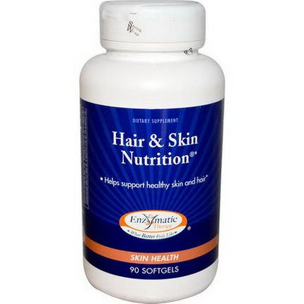 Enzymatic Therapy, Hair&Skin Nutrition, 90 Softgels