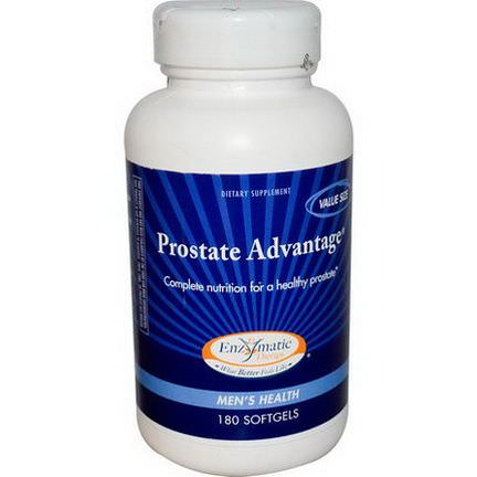 Enzymatic Therapy, Prostate Advantage, Men's Health, 180 Softgels