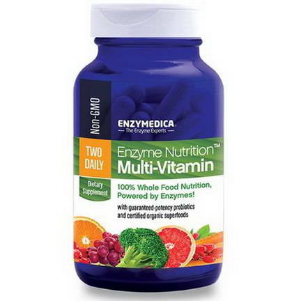 Enzymedica, Enzyme Nutrition Multi-Vitamin, 60 Capsules