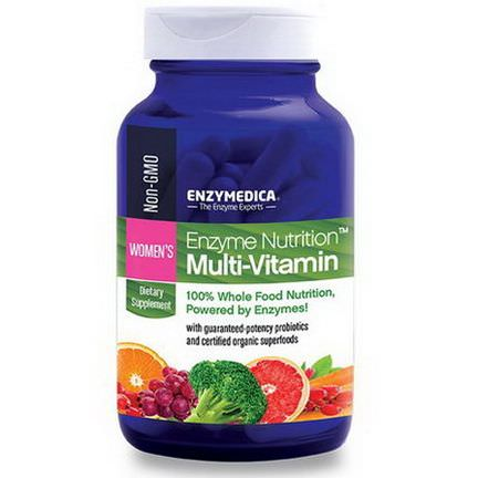 Enzymedica, Enzyme Nutrition Multi-Vitamin, Women's, 120 Capsules