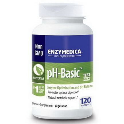 Enzymedica, pH-Basic, 120 Capsules