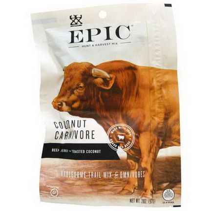 Epic Bar, Coconut Carnivore, Wholesome Trail Mix 57g