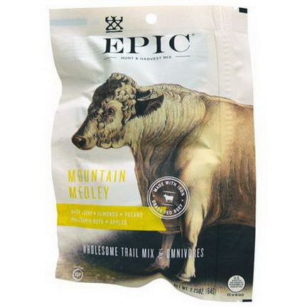 Epic Bar, Mountain Medley, Wholesome Trail Mix 64g