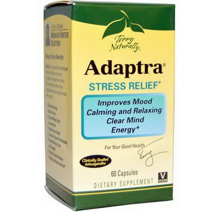 EuroPharma, Terry Naturally, Adaptra, 60 Capsules