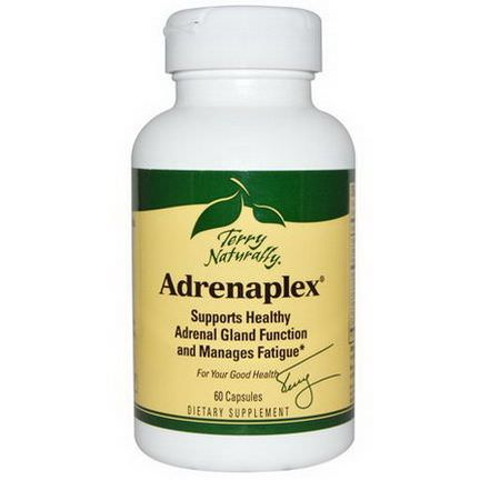 EuroPharma, Terry Naturally, Adrenaplex, 60 Capsules