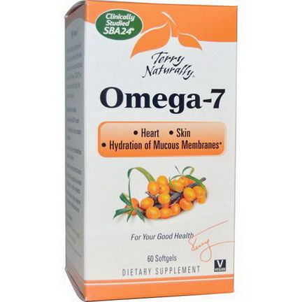 EuroPharma, Terry Naturally, Omega-7, 60 Softgels