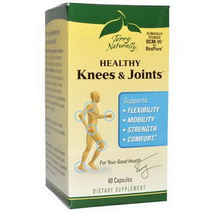 EuroPharma, Terry Naturally, Terry Naturally, Healthy Knees&Joints, 60 Capsules