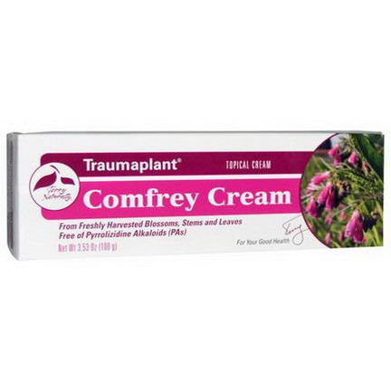 EuroPharma, Terry Naturally, Traumaplant Comfrey Cream 100g