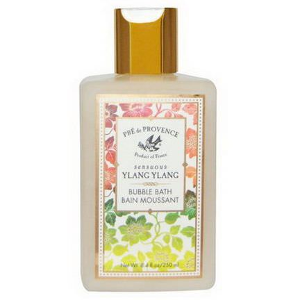 European Soaps, LLC, Pre de Provence, Bubble Bath, Sensuous Ylang Ylang 250ml