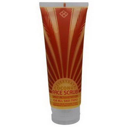Everyday Coconut, Face Scrub, Daily Rejuvenation, For All Skin Types 228g