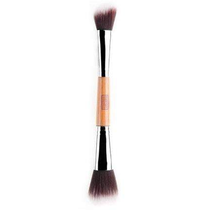 Everyday Minerals, Double Ended Angled Blush&Mineral Brush